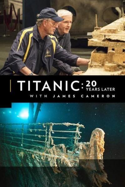 Caratula, cartel, poster o portada de Titanic: 20 años después con James Cameron