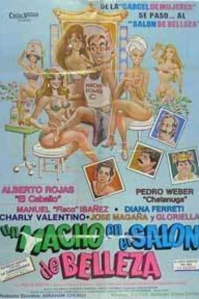 Caratula, cartel, poster o portada de Un macho en el salón de belleza