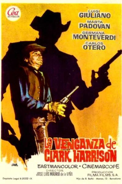 Caratula, cartel, poster o portada de La venganza de Clark Harrison