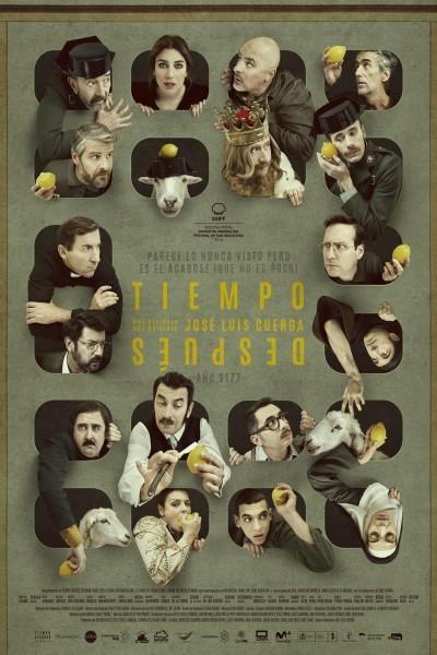 Caratula, cartel, poster o portada de Tiempo después