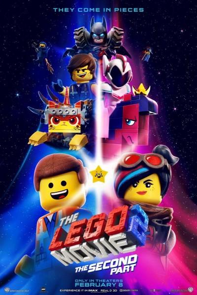 Caratula, cartel, poster o portada de La LEGO película 2