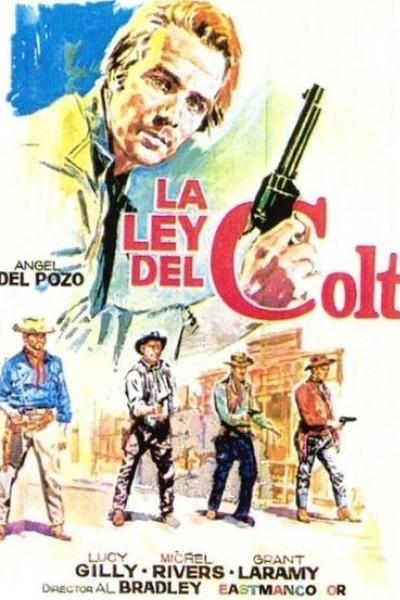 Caratula, cartel, poster o portada de La ley del Colt