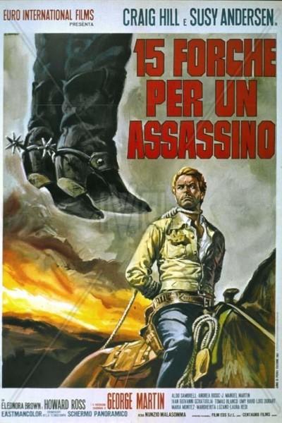 Caratula, cartel, poster o portada de Quince horcas para un asesino