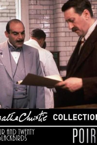 Caratula, cartel, poster o portada de Agatha Christie: Poirot - Cuatrocientos mirlos