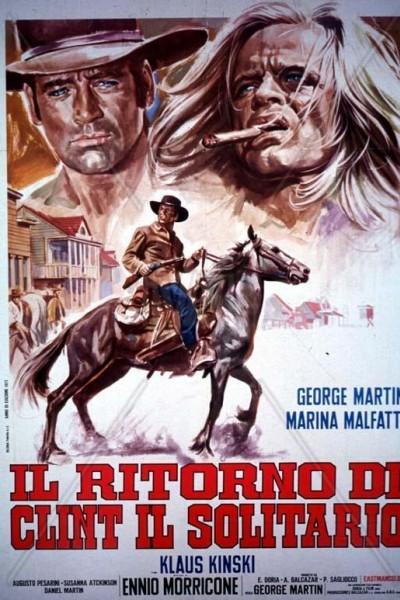 Caratula, cartel, poster o portada de El retorno de Clint el solitario