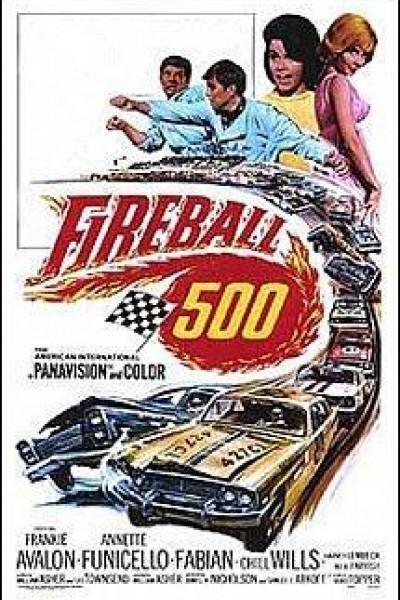 Caratula, cartel, poster o portada de Fireball 500