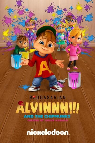 Caratula, cartel, poster o portada de ¡¡¡Alvinnn!!! Y las ardillas