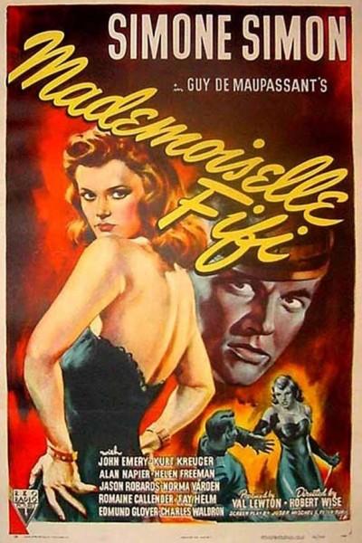 Caratula, cartel, poster o portada de Mademoiselle Fifi