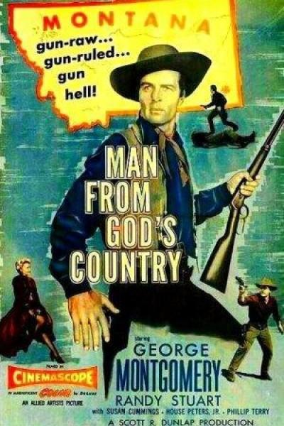 Caratula, cartel, poster o portada de El hombre del país de Dios