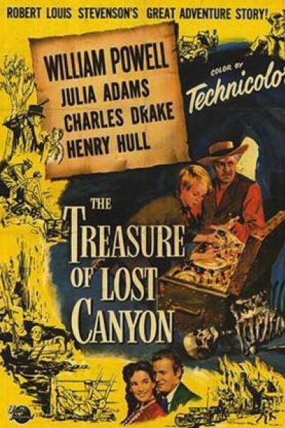 Caratula, cartel, poster o portada de El tesoro de Lost Canyon