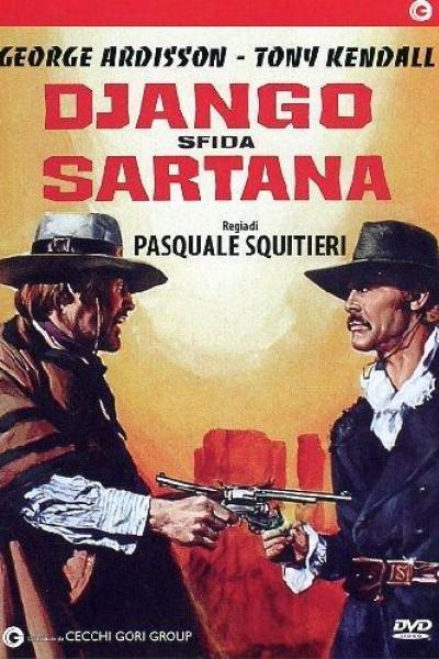 Caratula, cartel, poster o portada de Django desafía a Sartana
