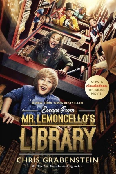 Caratula, cartel, poster o portada de Escapa de la biblioteca del Sr. Lemoncello