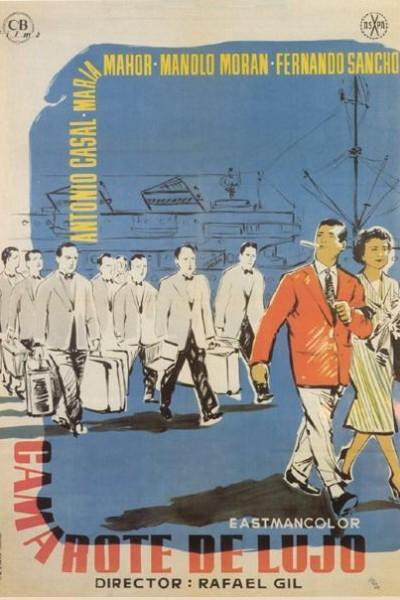 Caratula, cartel, poster o portada de Camarote de lujo