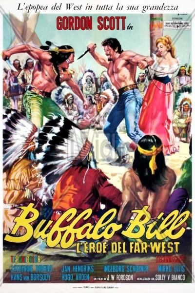 Caratula, cartel, poster o portada de El héroe del Oeste