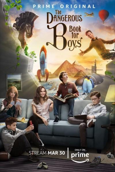 Caratula, cartel, poster o portada de El libro peligroso para los chicos