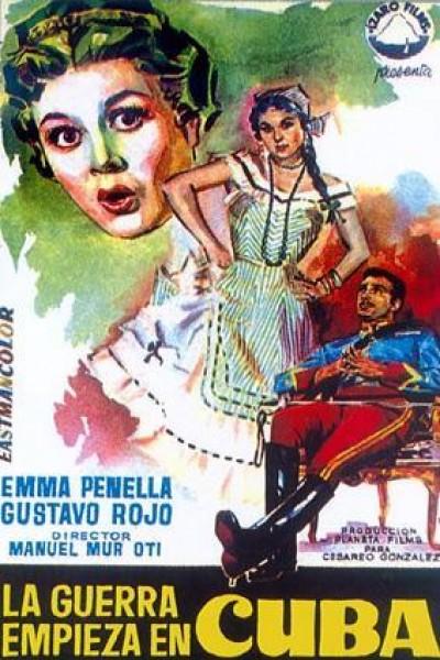 Caratula, cartel, poster o portada de La guerra empieza en Cuba
