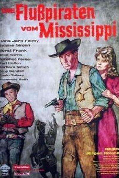 Caratula, cartel, poster o portada de Los cuatreros del Mississippi