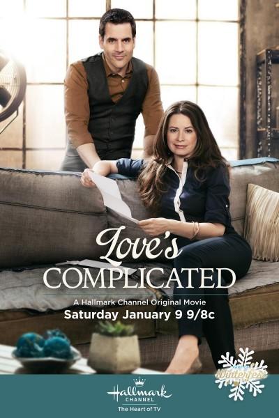 Caratula, cartel, poster o portada de El amor es complicado