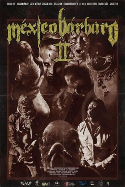 Caratula, cartel, poster o portada de México bárbaro II
