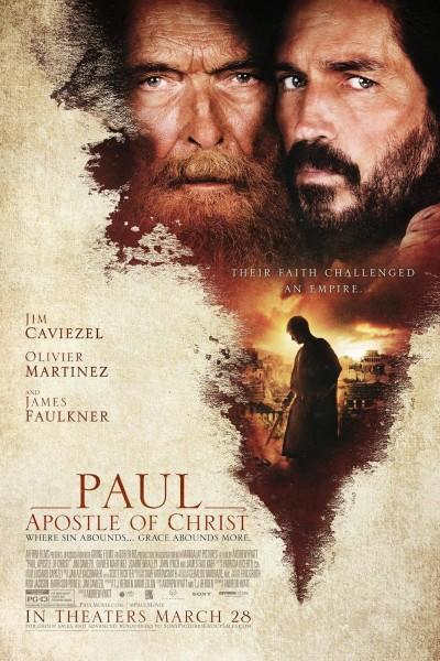 Caratula, cartel, poster o portada de Pablo, el apóstol de Cristo