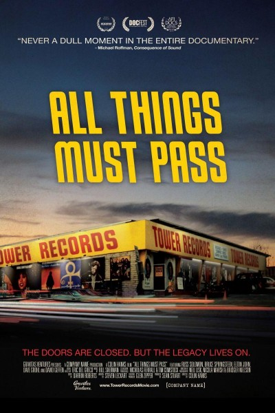 Caratula, cartel, poster o portada de All Things Must Pass: The Rise and Fall of Tower Records