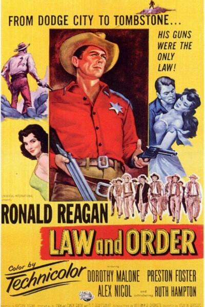 Caratula, cartel, poster o portada de La ley del Oeste