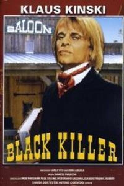 Caratula, cartel, poster o portada de El pistolero de negro (Asesino siniestro)