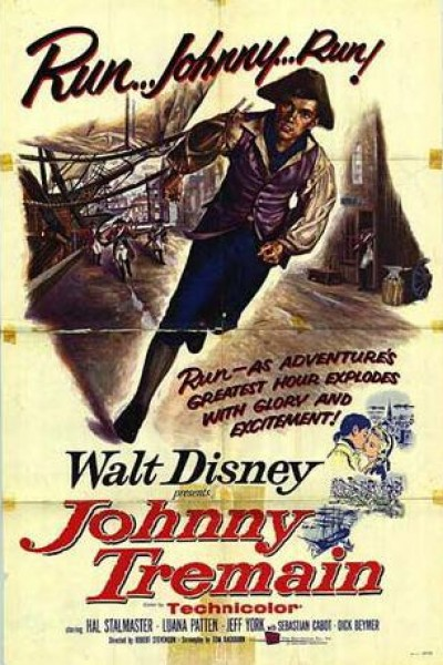 Caratula, cartel, poster o portada de Johnny Tremain