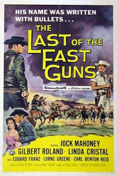 Caratula, cartel, poster o portada de El último pistolero de la frontera