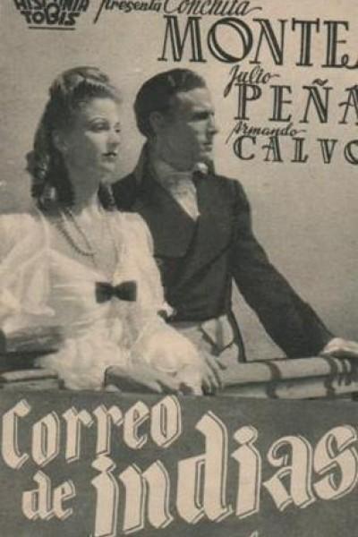Caratula, cartel, poster o portada de Correo de Indias