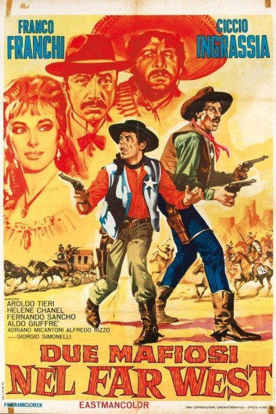 Caratula, cartel, poster o portada de Dos pistoleros