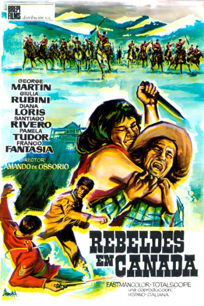 Caratula, cartel, poster o portada de Rebeldes en Canadá