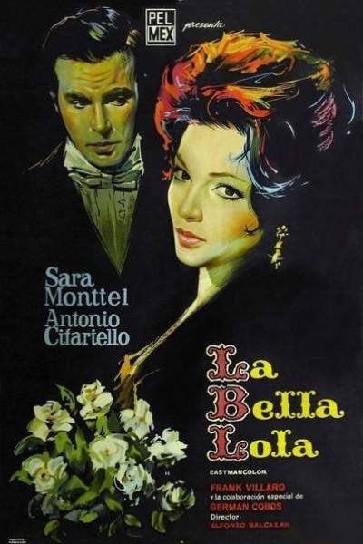 Caratula, cartel, poster o portada de La bella Lola