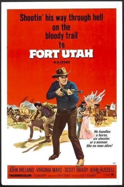 Caratula, cartel, poster o portada de Fort Utah