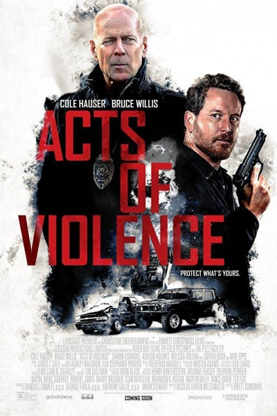 Caratula, cartel, poster o portada de Actos de violencia