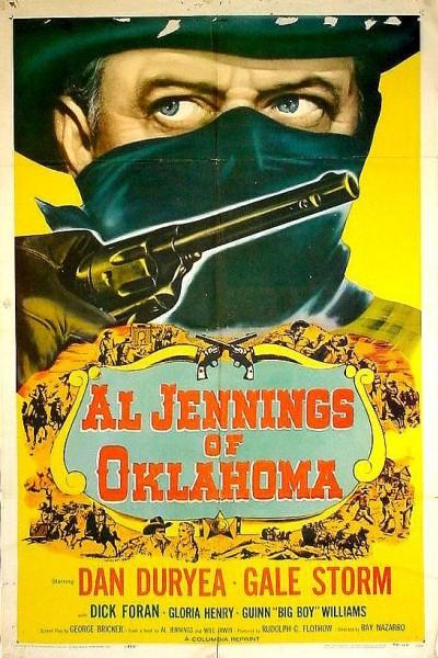 Caratula, cartel, poster o portada de Al Jennings de Oklahoma