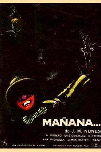 Caratula, cartel, poster o portada de Mañana...