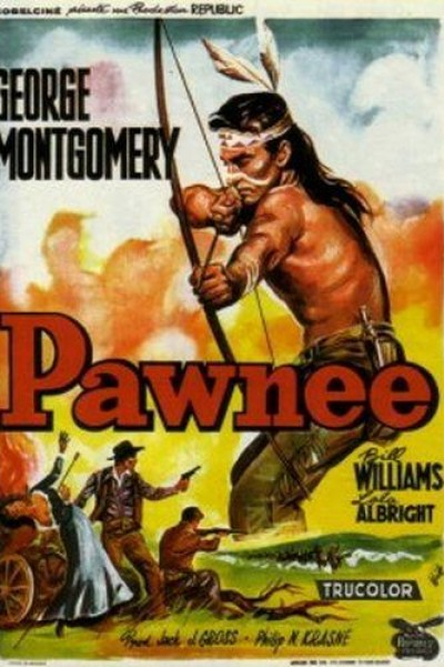 Caratula, cartel, poster o portada de La tribu de los Pawnee