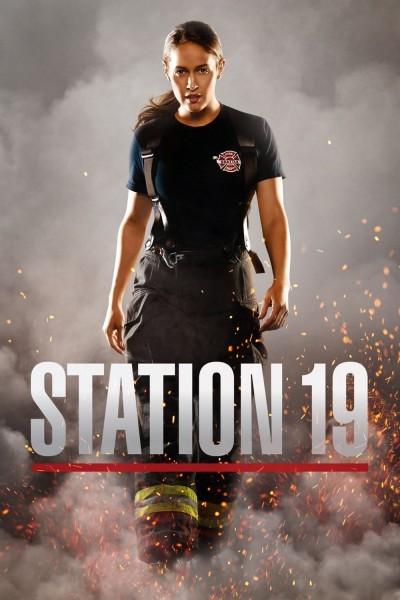 Caratula, cartel, poster o portada de Estación 19