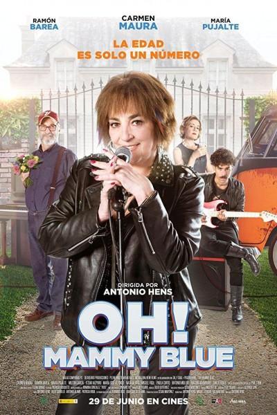 Caratula, cartel, poster o portada de Oh! Mammy Blue