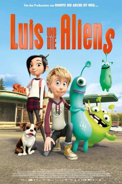Caratula, cartel, poster o portada de Luis y los alienígenas
