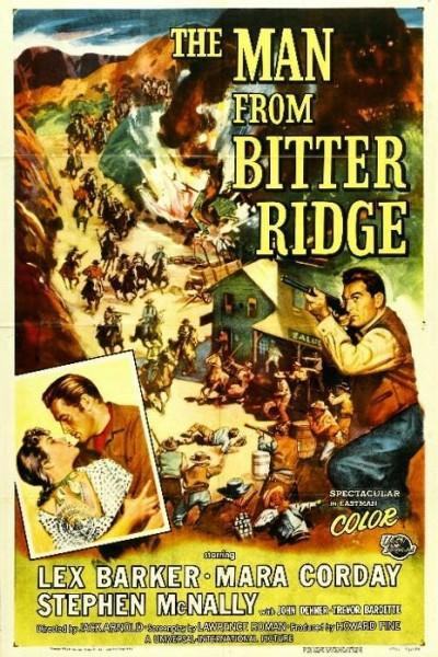 Caratula, cartel, poster o portada de El hombre de Bitter Ridge