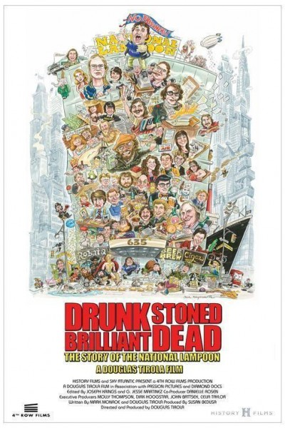 Caratula, cartel, poster o portada de Drunk Stoned Brilliant Dead: The Story of the National Lampoon