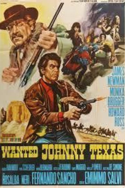Caratula, cartel, poster o portada de Wanted: Johnny Texas