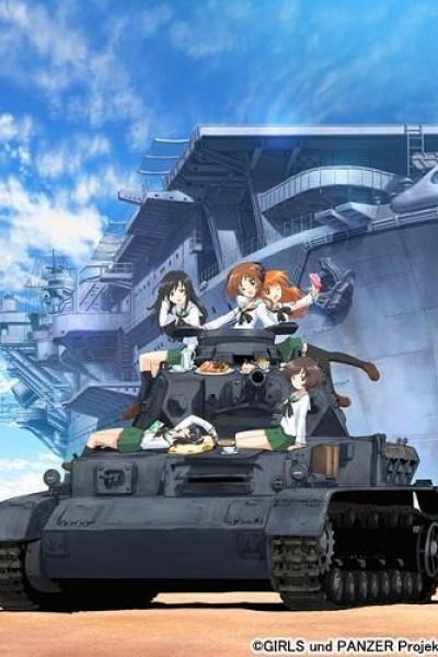 Caratula, cartel, poster o portada de Girls und Panzer