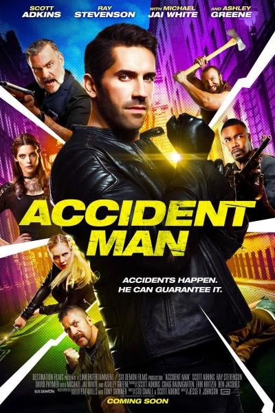 Caratula, cartel, poster o portada de Accident Man