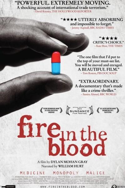 Caratula, cartel, poster o portada de Fuego en la sangre