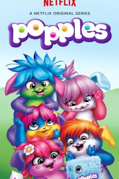 Caratula, cartel, poster o portada de Popples