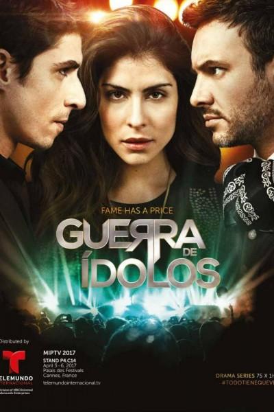 Caratula, cartel, poster o portada de Guerra de Idolos