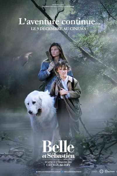 Caratula, cartel, poster o portada de Belle y Sébastien: la aventura continúa
